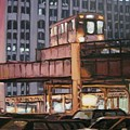 South Loop El by Christopher Buoscio