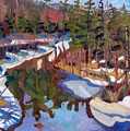 South Magnetawan Midday by Phil Chadwick