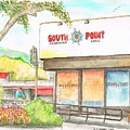South Point Restaurant, West Hollywood, California by Carlos G Groppa