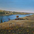 South Saskatchewan River by Sheryn Johnson