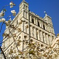 South Tower Exeter Cathedral by Richard Brookes