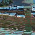 Southampton And Scubbys Bluff Fishing Fleet by Phil Chadwick