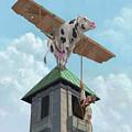 Southampton Cow Flight by Martin Davey
