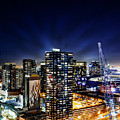 Southbank Melbourne By Night by Isabella Howard
