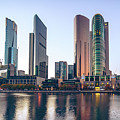 Southbank Melbourne by Nisah Cheatham