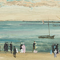 Southend Pier by James Abbott McNeill Whistler