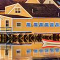 Southend Yacht Club by Dave Thompsen
