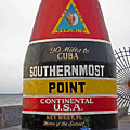 Southermost Point Of U. S. A. Buoy Marker by John Stephens