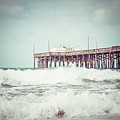 Southern California Pier Vintage 1950s Picture by Paul Velgos