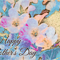 Southern Missouri Wildflowers -1 Mother's Day Card by Debbie Portwood