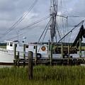 Southern Shrimpboat, Edisto Island, South Carolina  by Tim  Polen