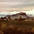 Southern Styria With Castle Riegersburg by Menega Sabidussi