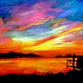 Southern Sunset by Gail Kirtz