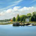 Southport Harbor by John Deecken