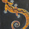 Southwest Lizard by Judy Lybrand