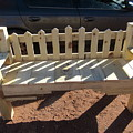 Southwestern Style Bench by Frederick Holiday