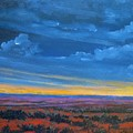 Southwestern Sunset by Gene Foust