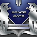 Space Cats by Chuck Staley