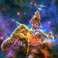Space Image Mystic Mountain Carina Nebula by Matthias Hauser