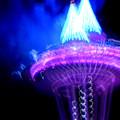 Space Needle Fireworks by Maro Kentros