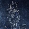 Space Suit Patent Illustration by Dan Sproul