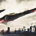 Spaceship by Dorothy Binder