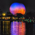 Spaceship Earth Reflection by Stuart Rosenthal