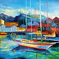 Spain Boats by Olha Darchuk