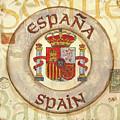 Spain Coat Of Arms by Debbie DeWitt