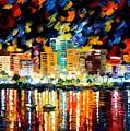 Spain San Antonio by Leonid Afremov