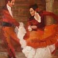Spanish Dancers by Irena  Jablonski