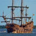 Spanish Galleon by Bob Sample