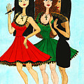 Spanish Girls by Don Pedro DE GRACIA