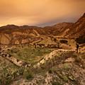 Spanish Landscape by Angel Ciesniarska