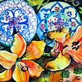 Spanish Plates by Yelena Tylkina