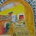 Spanish Stairs by Everett Kimball