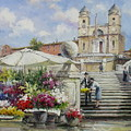 Spanish Steps, Rome by Lucio Campana