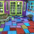 Spanish Village Art Center by Jane Linders