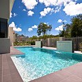 Sparkling New Pool by Darren Burton