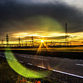Sparkling Sun by Andrei Marius