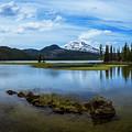 Sparks Lake, Oregon by Steven Clark