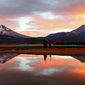 Sparks Lake Sunrise by Sandra Woods