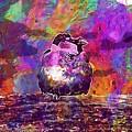 Sparrow Sperling Bird Close  by PixBreak Art
