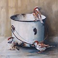 Sparrows by Cheryl Van Dyk
