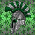 Spartan Helmet by Dusty Conley