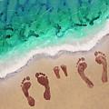 Speck Family Beach Feet by April Kasper