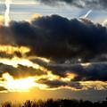 Spectacular Sunrise In Clouds by Reva Steenbergen