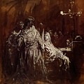 Spectrum Appearance Of Banquo by Dore Gustave