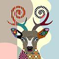 Spectrum Deer by Lanre Studio