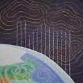 Spectrum Earth Spacescape by Jesse Jackson Brown